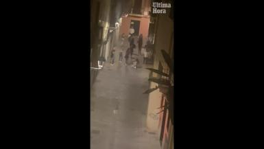Man attacked by youths in Palma.