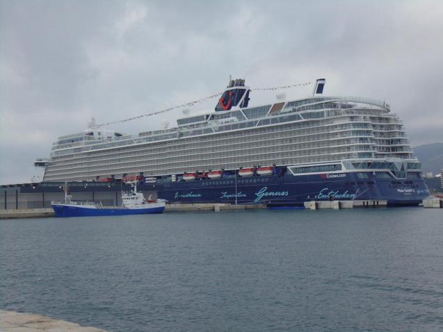 Mein Schiff 2 in Palma, Mallorca