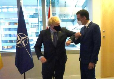 Nice to see Boris and his Spanish counterpart having a chat, but they forget something