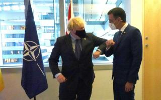 Pedro Sánchez met Boris Johnson implied immediate matters of interest