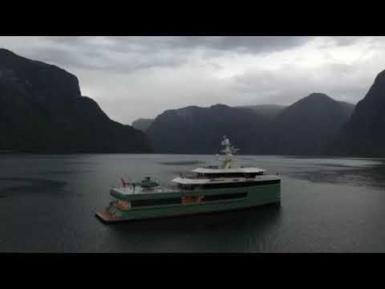 Superyacht 'Anawa'.