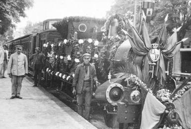 The plan for the Pollensa railway was to break the monopoly of Palma.