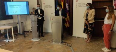 Presentation of the campaign in Palma on Tuesday.