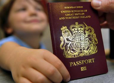 Renewing your passport online