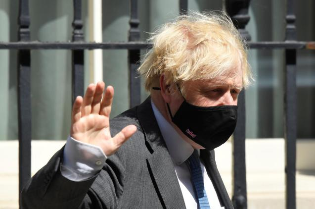 Johnson: foreign holiday.