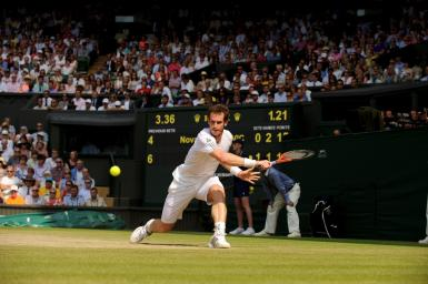 Handout image of Andy Murray of Britain