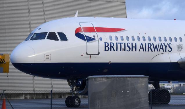 British Airways (BA) aircraft
