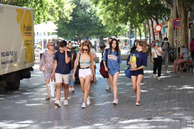 Masks no longer mandatory outdoors in Mallorca