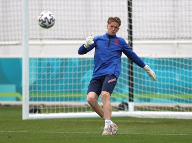 Euro 2020 - England training.