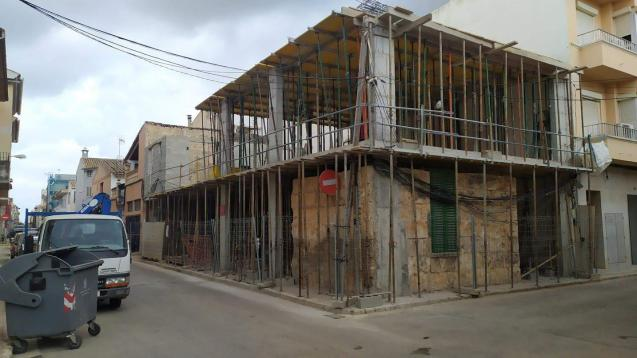 Building in Sa Pobla, Mallorca