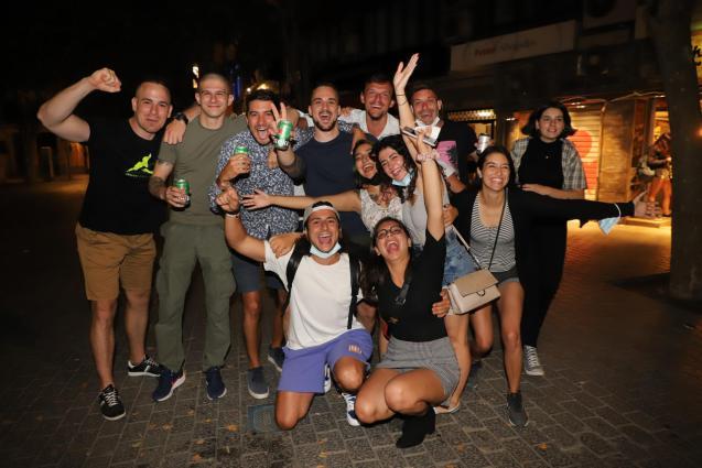 Spanish students scandal