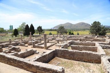 The Pollentia Roman site.