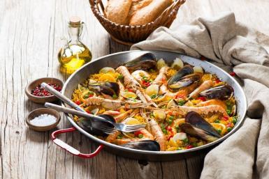 The classic Paella Valenciana