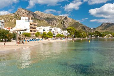 Summer had finally arrived at Puerto Pollensa and Cala Sant Vicenç beaches.