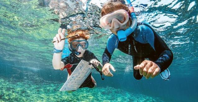 Mallorca Dive Camp participant.