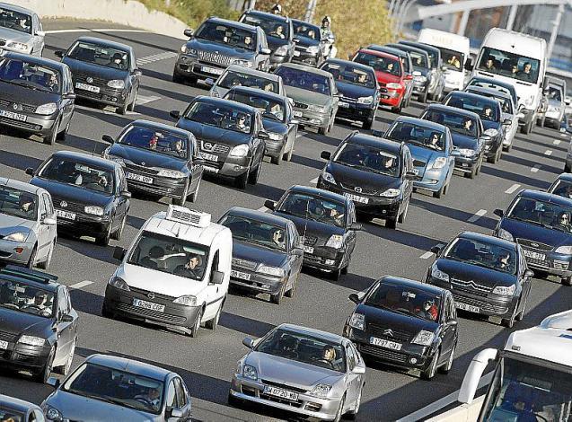 The traffic in Mallorca
