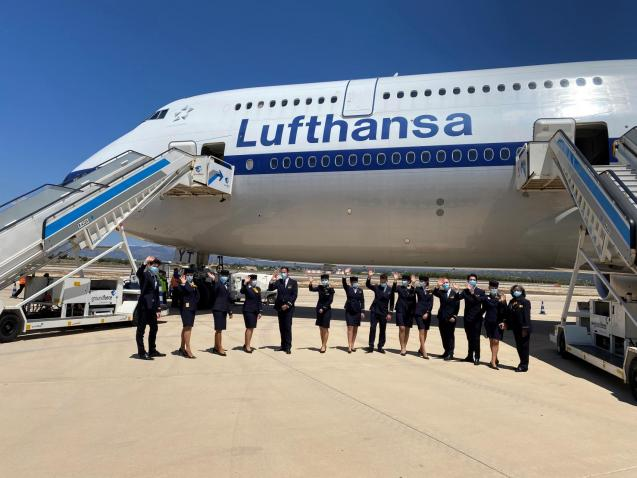 Lufthansa will be operating the Airbus A350-900 between Munich and Palma