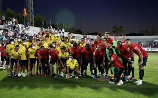 Real Mallorca made their pre-season debut on a sweltering Sunday night in Sa Pobla.