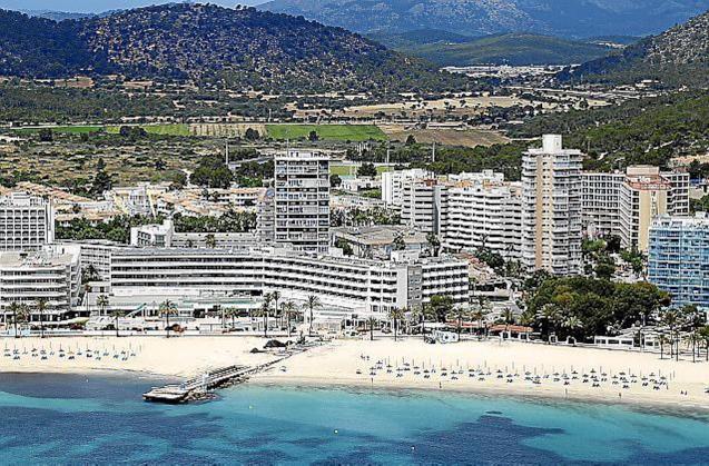 Tourist resort, Mallorca.
