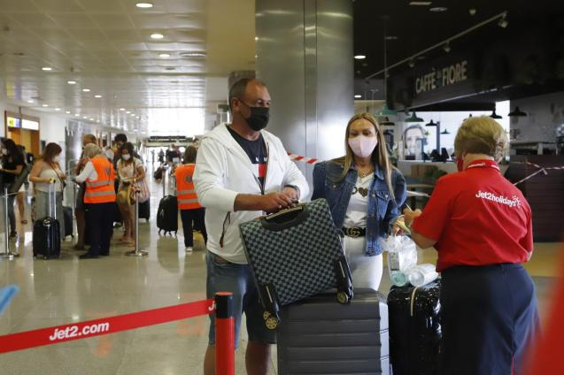 """""""British tourists are coming to Spain almost against all odds..."""""""