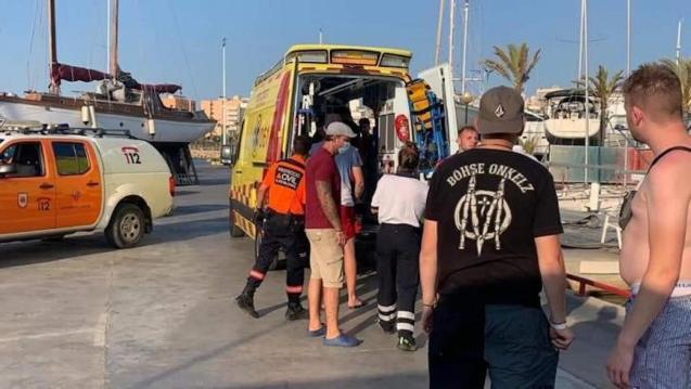 Teenager injured on Palma 'Party Boat'.