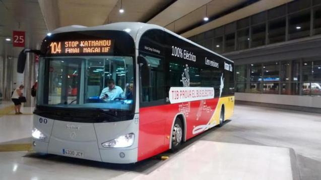 TIB bus, Palma.