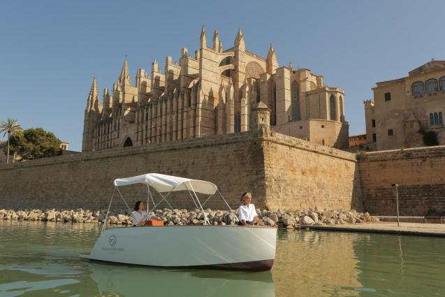 The Balearic company eBoats Experience presents Nauta Morgau