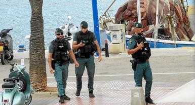 Guardia Civil Officers in Puerto Andratx.