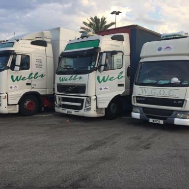 For over 36 years Webbs have specialised in moving all types of goods between the UK and the Balearics.