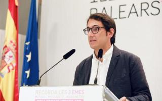 Balearic government spokesperson and minister for tourism, Iago Negueruela