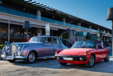 Gorgeous Bentley and sublime Porsche 914.