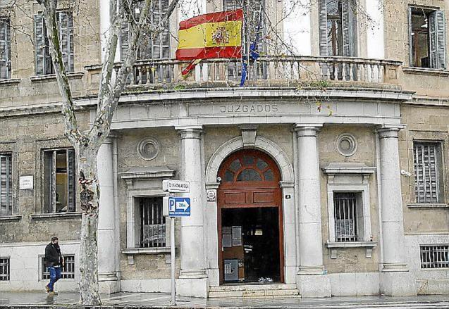 Courthouse, Via Alemania, Palma.