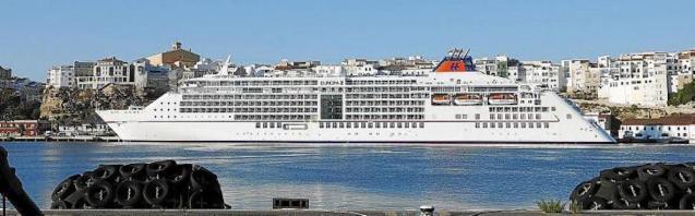 'Europa 2' Cruise Ship.