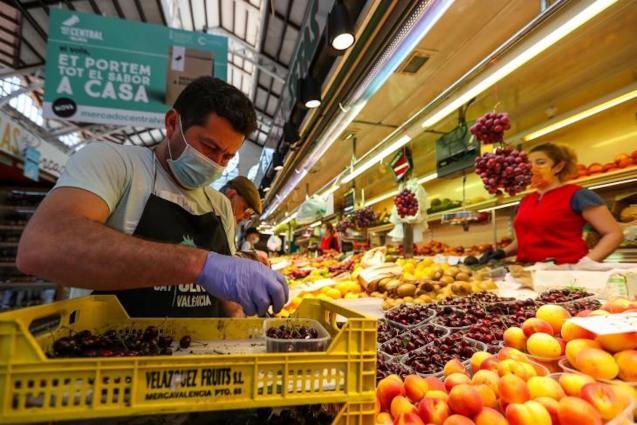 Market in Spain.