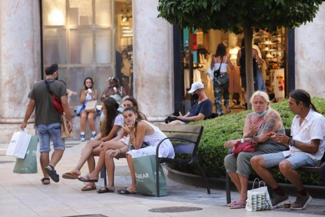 Young people in Palma.