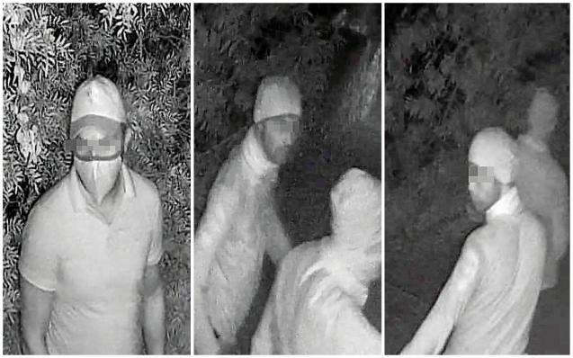Security camera captures images of Santa Ponsa Mallorca burglars