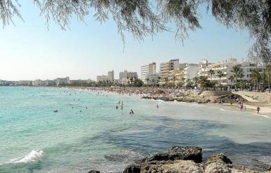 Cala Millor, Mallorca. archive photo.