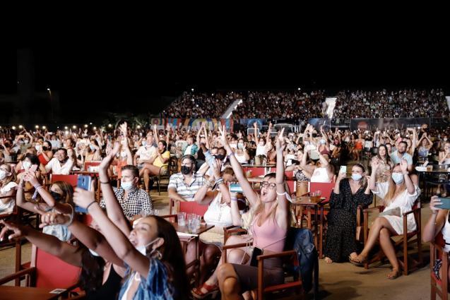 Concert by Colombian singer Camilo Echeverry in Palma, Mallorca