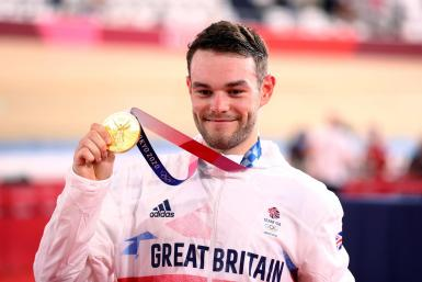 Cycling - Track - Men's Omnium - Medal Ceremony