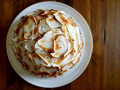 Smooth, creamy and luscious, nothing beats a classic baked Alaska!