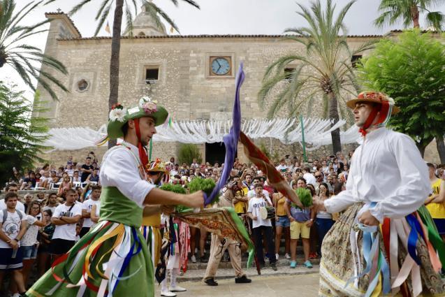 The Sant Bartomeu fiesas in Montuiri