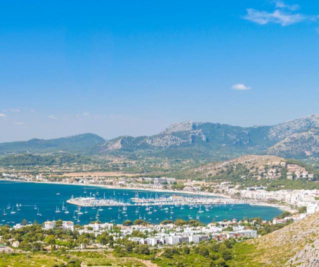 View of Puerto Pollensa.