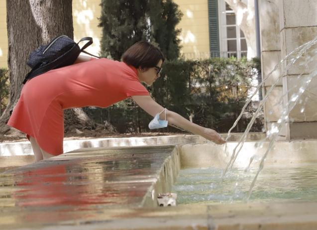 Heat wave in Mallorca