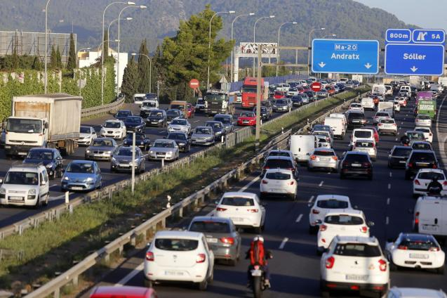 The Balearic government, was not planning a reduction in traffic but he added that this couldn't be ruled out
