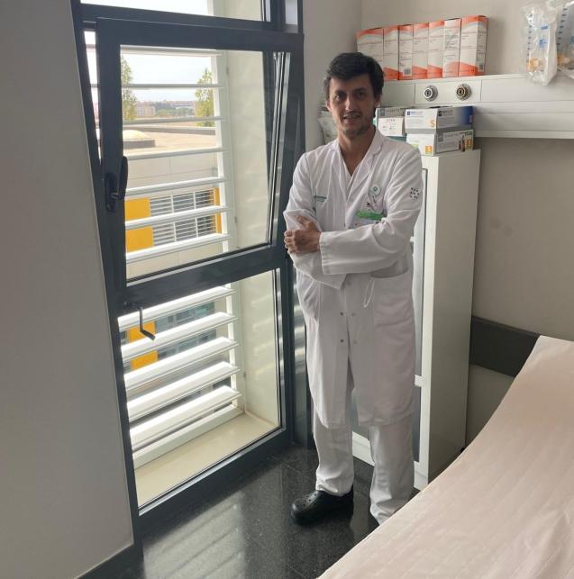 Juan Jose Segura-Sampedro at Son Espases hospital