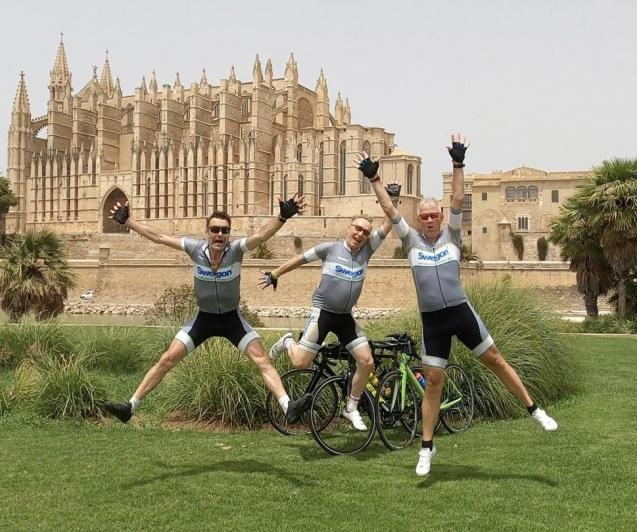Retiree Jan will now bike from Stockholm to Palma!