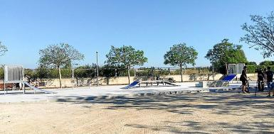 Skateparks have become venues for drinking.