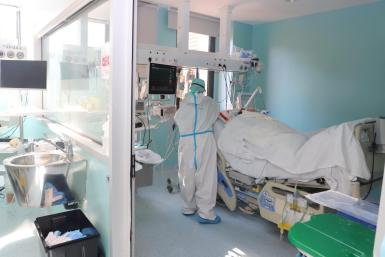 There are currently 62 Covid patients in intensive care in Mallorca.