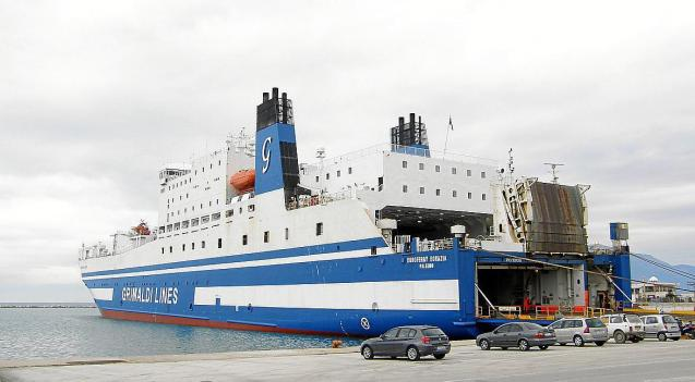 Grimaldi Lines ferry