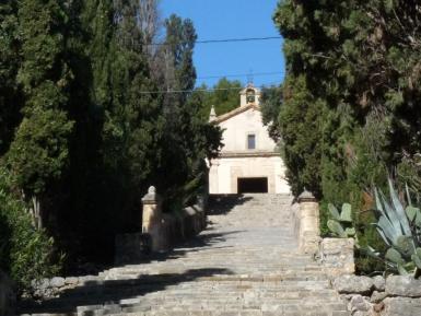 The Calvari and steps in Pollensa.